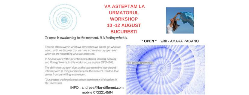 Un atelier de Azul Deschis / Azul Workshop OPEN